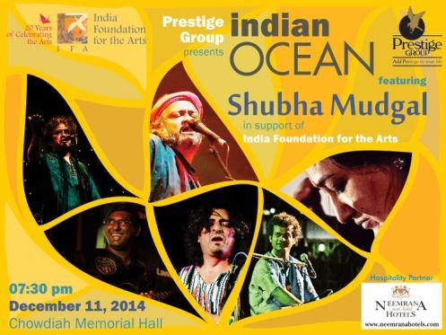 Indian Ocean & Shubha Mudgal in Concert